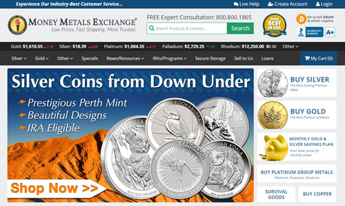 moneymetals website